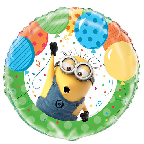 Despicable Me Minion with Balloons Balloon 18""