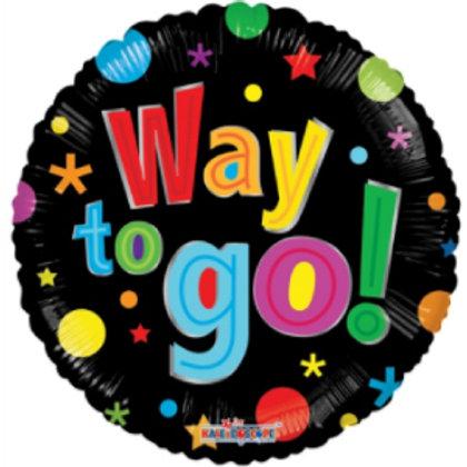 Way to Go! Balloon