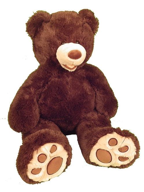 Large Teddy Bear - Dark Brown