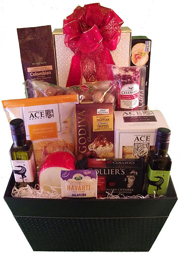 Gift Basket with Bow