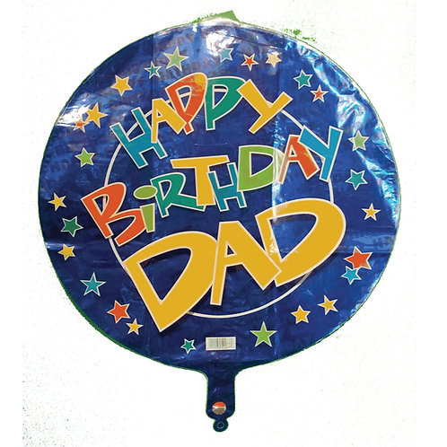 Happy Birthday Dad Stars 18""