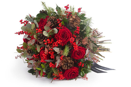Deluxe Christmas Mixed Bouquet
