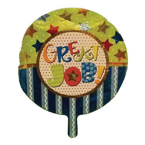 "Great Job! Stars and Stripes Balloon 18"""