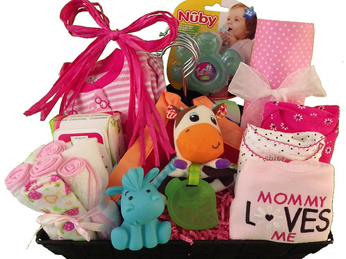Medium Baby Girl Basket