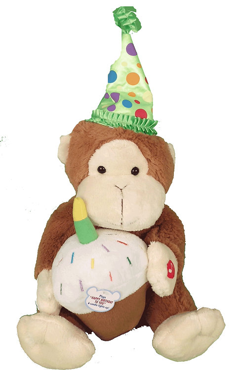 Happy Birthday Singing Monkey