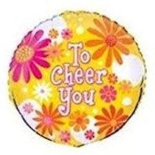 """To Cheer You Daisy Balloon 18"""""""