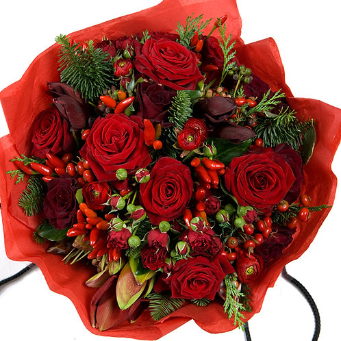 Extra Large Christmas Rose Bouquet