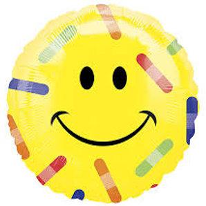 "Smiley Bandaid Balloon 18"""