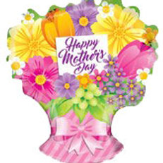 Happy Mothers Day  Bouquet Balloon