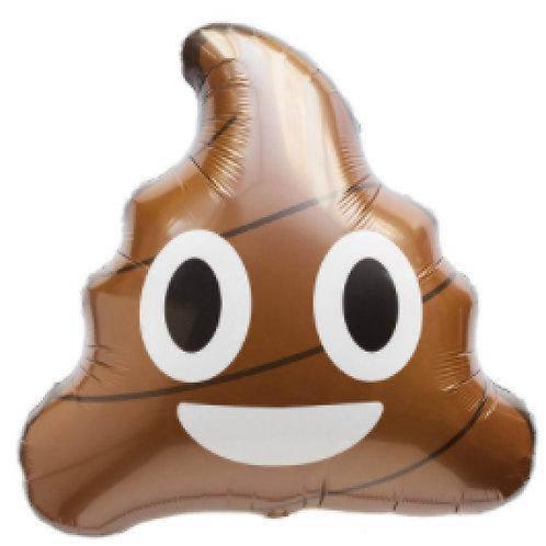 Emoji Poop Helium Shape Foil Balloon