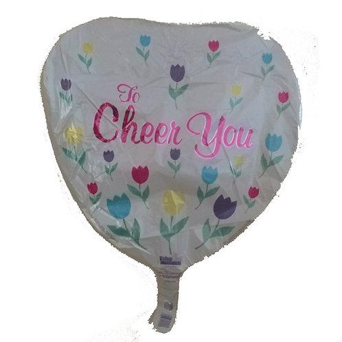To Cheer You Heart Balloon 18