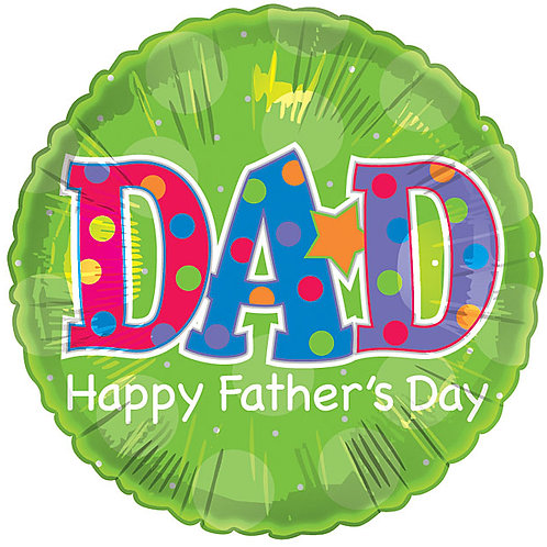 Happy Father's Day DAD Balloon 18""