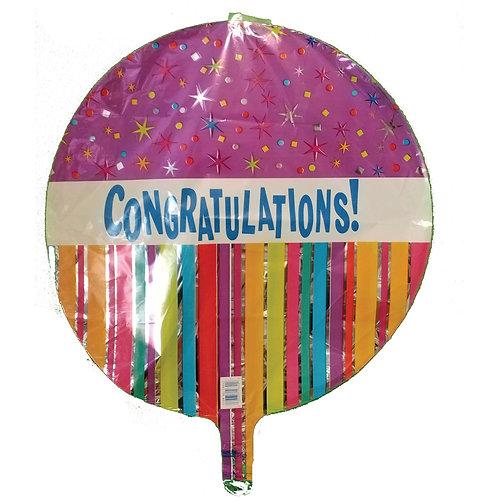 "Congratulations Stars and Stripes 18"""