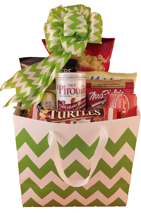 Gift Bag of Yummy Snacks