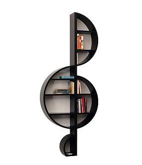 """La libreria di design a muro """"La Violino"""""""