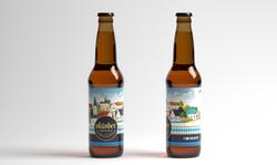 Etiqueta Cerveza Oktober