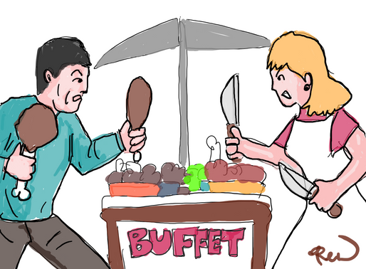 The Buffet's Last Stand
