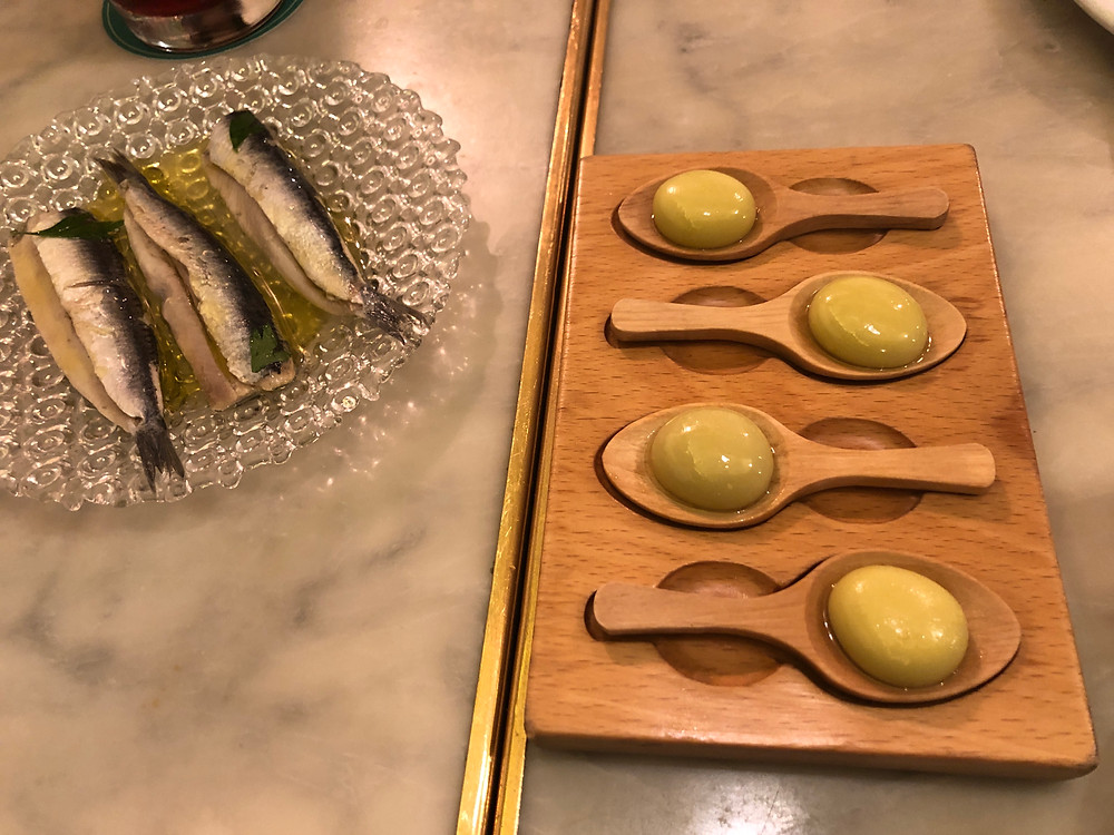 Fresh sardines in olive oil and the dish that started a revolution: Olive-S