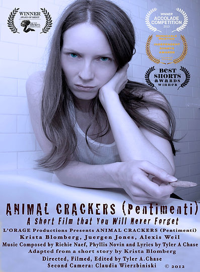 Animal Crackers Pentimenti NEW POSTER W