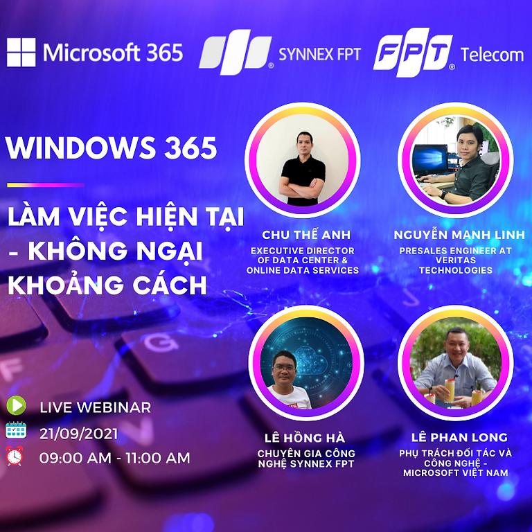 """FPT Webinar Series Ep#4 """"Windows 365: Làm việc hiện tại - Không ngại khoảng cách"""""""
