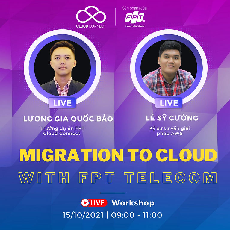 """FPT Webinar Series Ep#7 """"Migration to Cloud with FPT Telecom"""""""