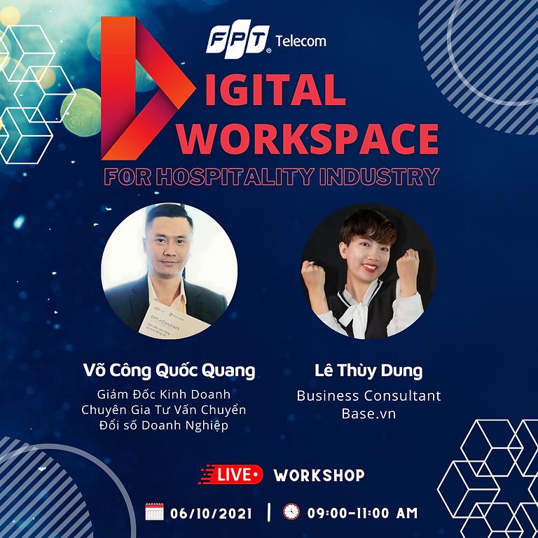 "FPT Webinar Series Ep#6 ""Digital Workspace for Hospitality Industry"""