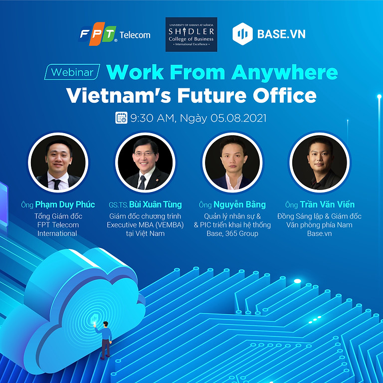 """FPT Webinar Series Ep#1 """"Work From Anywhere - Vietnam's Future Office"""""""
