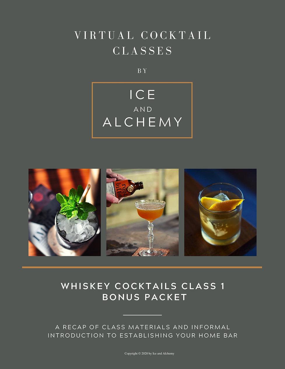 Copy of I&A Whiskey Class 1 - BONUS PDF
