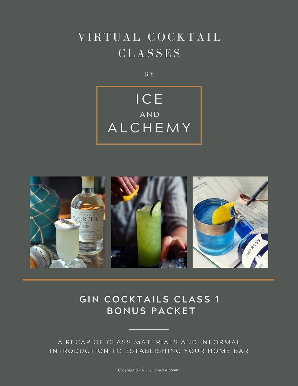 Copy of I&A  - Gin Cocktails Class 1 BON