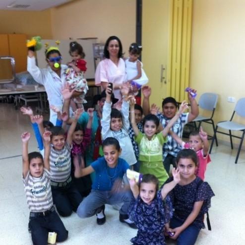 CF patients in Palestine
