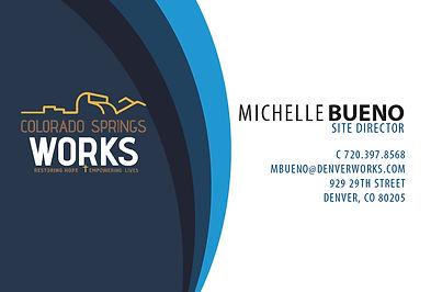 Denver Works business card front