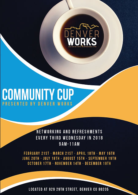 Community Cup Poster