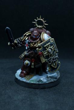 Bladeguard Veteran. Bloody Rose Crusader. Red.