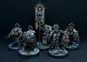 Bladeguard Veterans. Black Templar Crusaders. Sororitas
