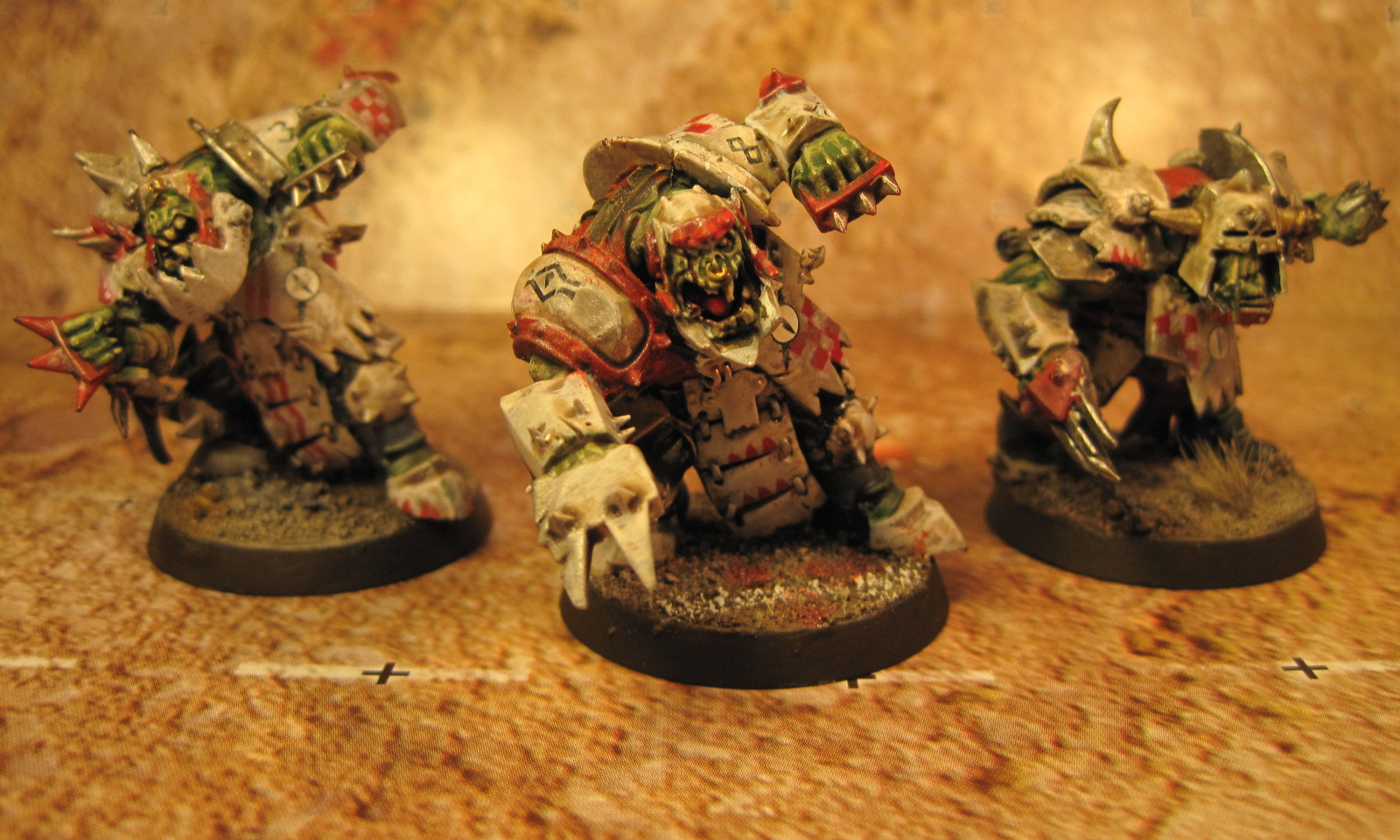 Blood Bowl Black Ork Blockers