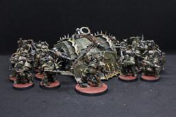 Death Guard - Typhus, Plague Marines and Plagueburst Crawler