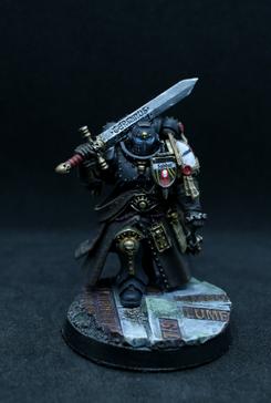 Black Templar. Emporer's Champion. Conversion