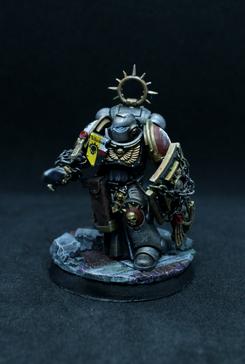 Bladeguard Veteran. Crusader. Argent Shroud. Silver