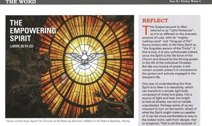 23rd May - Pentecost Sunday