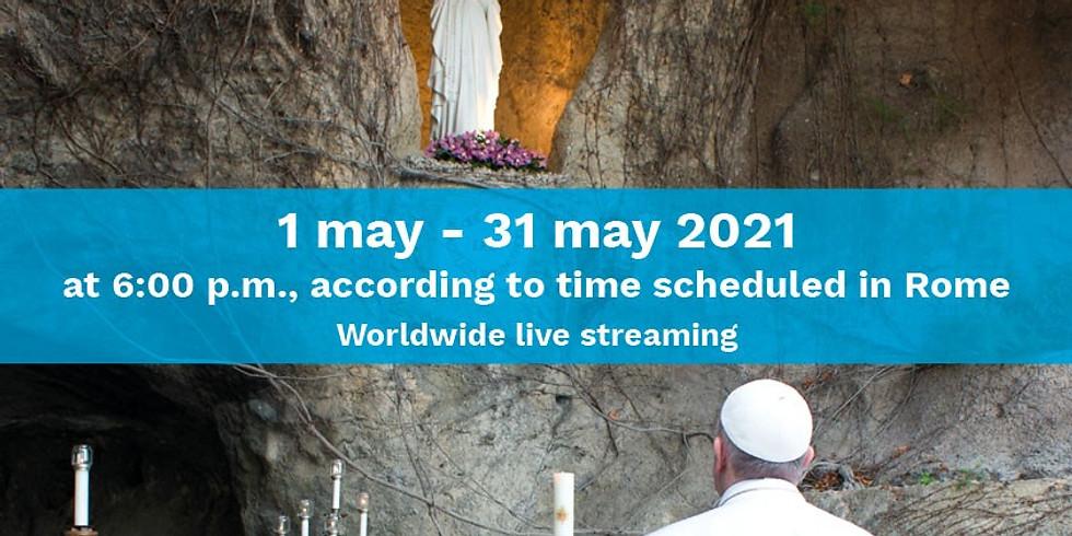We Pray Holy Rosary in May
