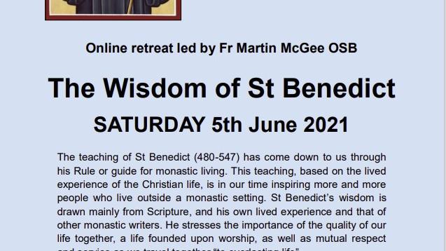 The Wisdom of St Benedict – Fr Martin McGee