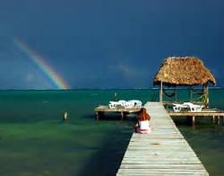 Rainbow Caye Caulker