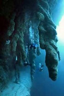 blue hole caverns