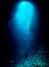 blue hole underwater