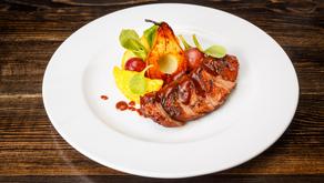Cinnamon-Pear Balsamic Pork