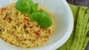Rosemary Carrot Risotto