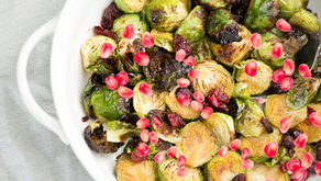 Jeweled Brussels Sprouts