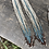 Thumbnail: Long Dusk Sky Earrings