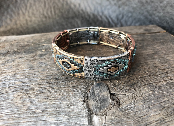 Aztec Patina Bracelet