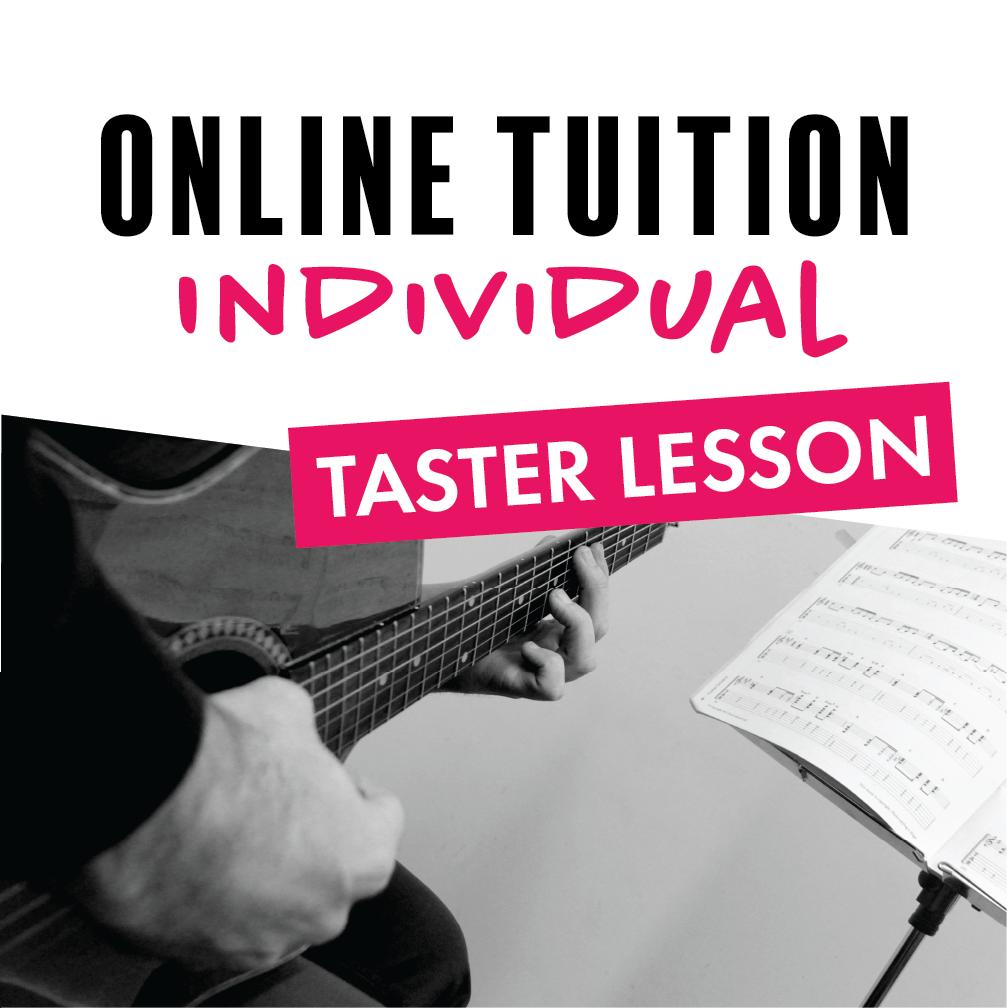 Individual Online Taster - Music